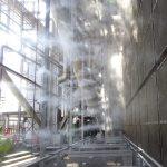 2012-Système de refroidissement par air semi-sec à brouillard