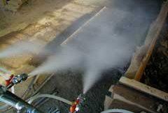 suppress dust
