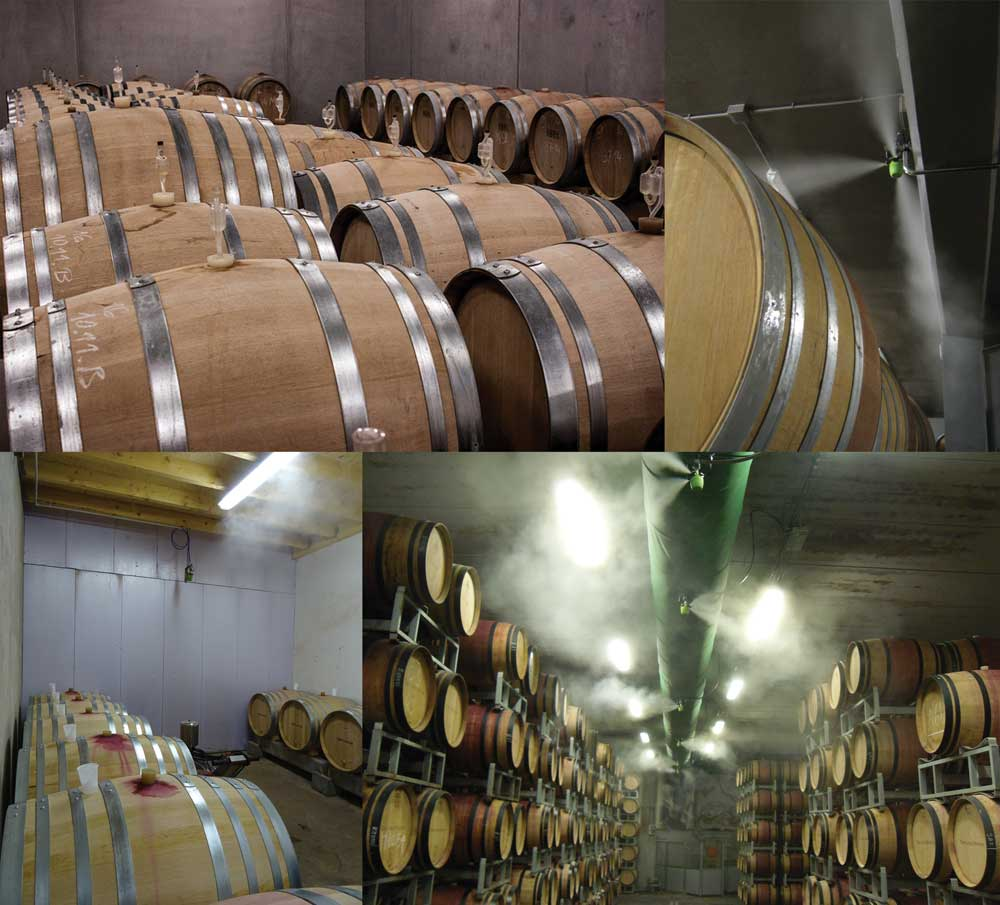 humidification-in-winery