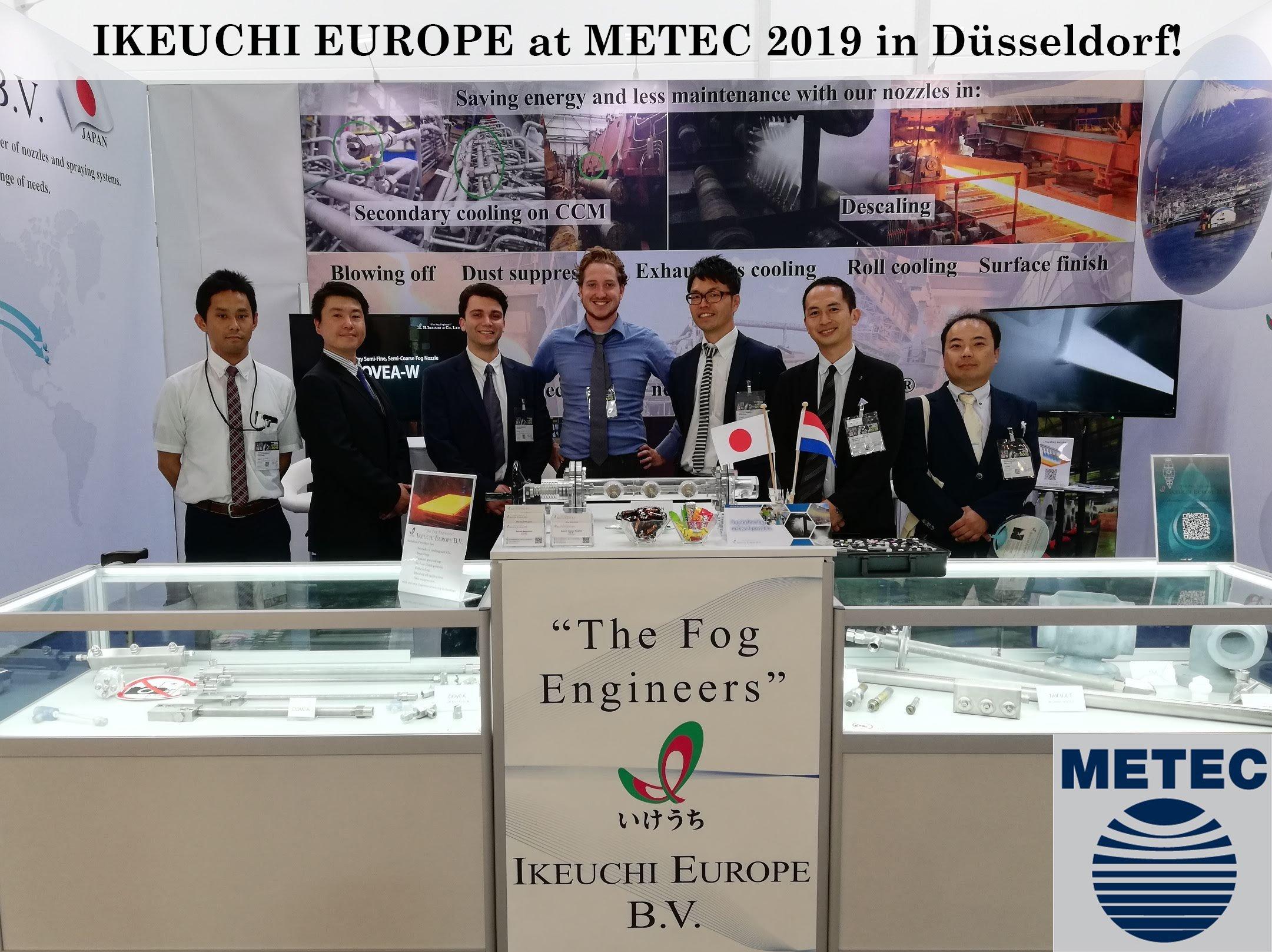 IKEUCHI EUROPE at METEC