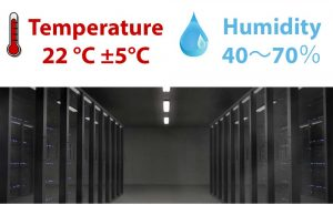 humidity for computer room