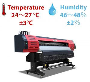 humidity for printing