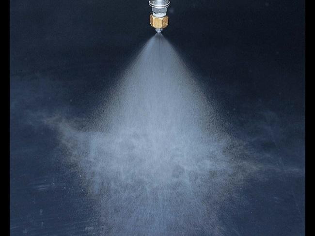 Fine fog nozzle