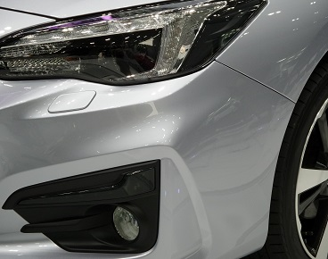 paint defects on bumpers