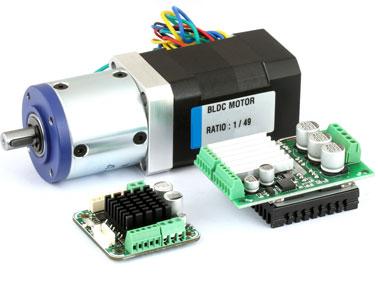 humidification for BLDC motors
