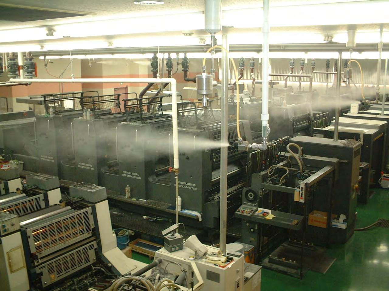 humidification in the printing industry